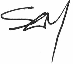 Chief Executive Officer signature